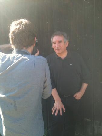 Bayrou dans son Béarn natal (le 26 septembre 2011)