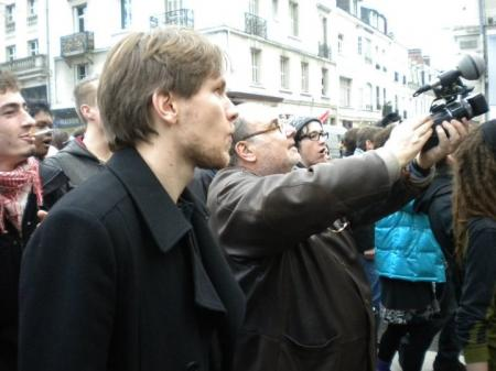 Serge Moati à Tours : congrès du FN (15-16 janvier 2011 )