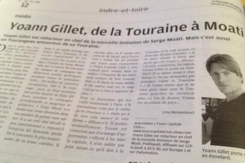 yoann gillet, tourangeau, serge moati, tours, tours capitale club, tcc,paris