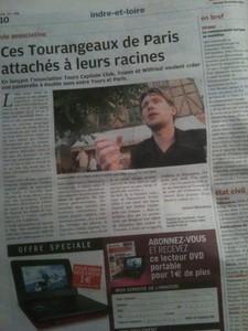 Yoann Gillet, Nouvelle République, Tours Capitale Club, TCC, Tours, Tourangeaux, Serge Moati